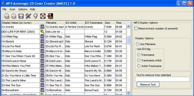 MACCC screenshot